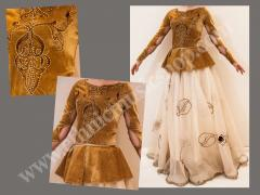 Female Dance Costume 2 - Traditional Jacket with Skirt